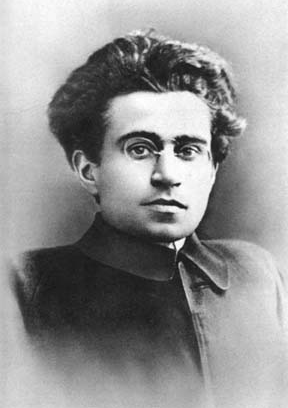 English: Portrait of Antonio Gramsci around 30...