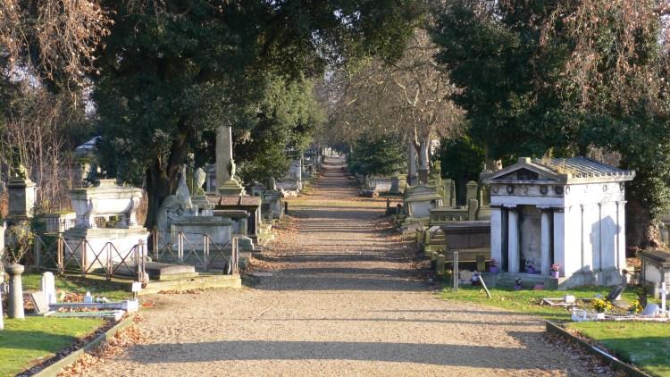Londra morte Freddie Mercury - Kensal Green Cemetery