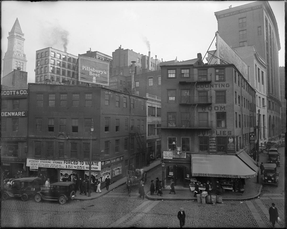 Dock Square, Exchange Street and Devonshire Street 1920