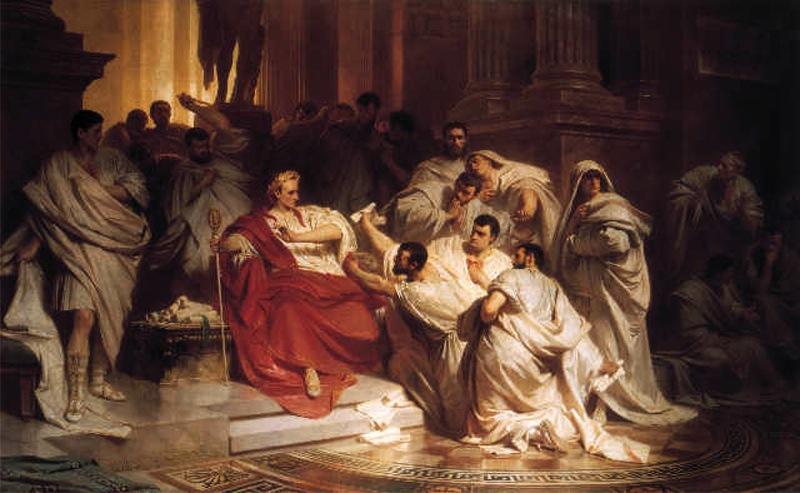 Archivo:Carl Theodor von Piloty Caesars Death.jpg