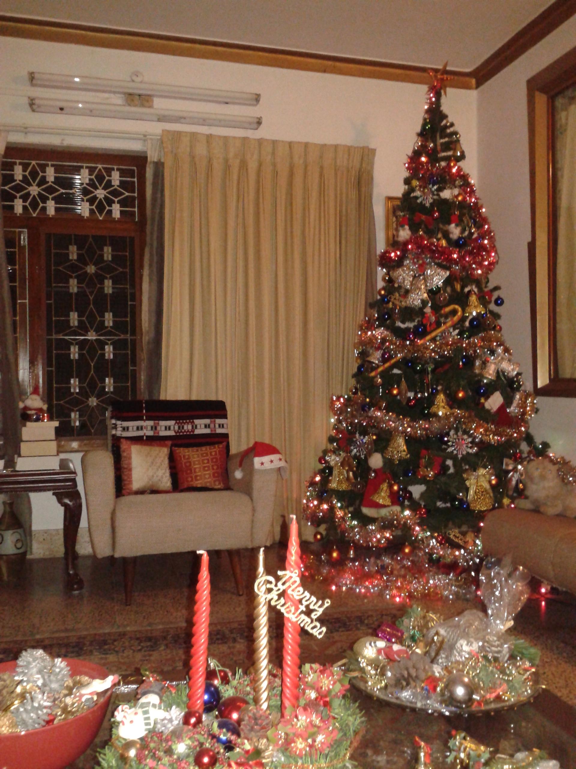 FileChristmas Tree In A Home Kerala Indiajpg