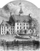 """The Old Stadt Huys of New Amsterdam"""