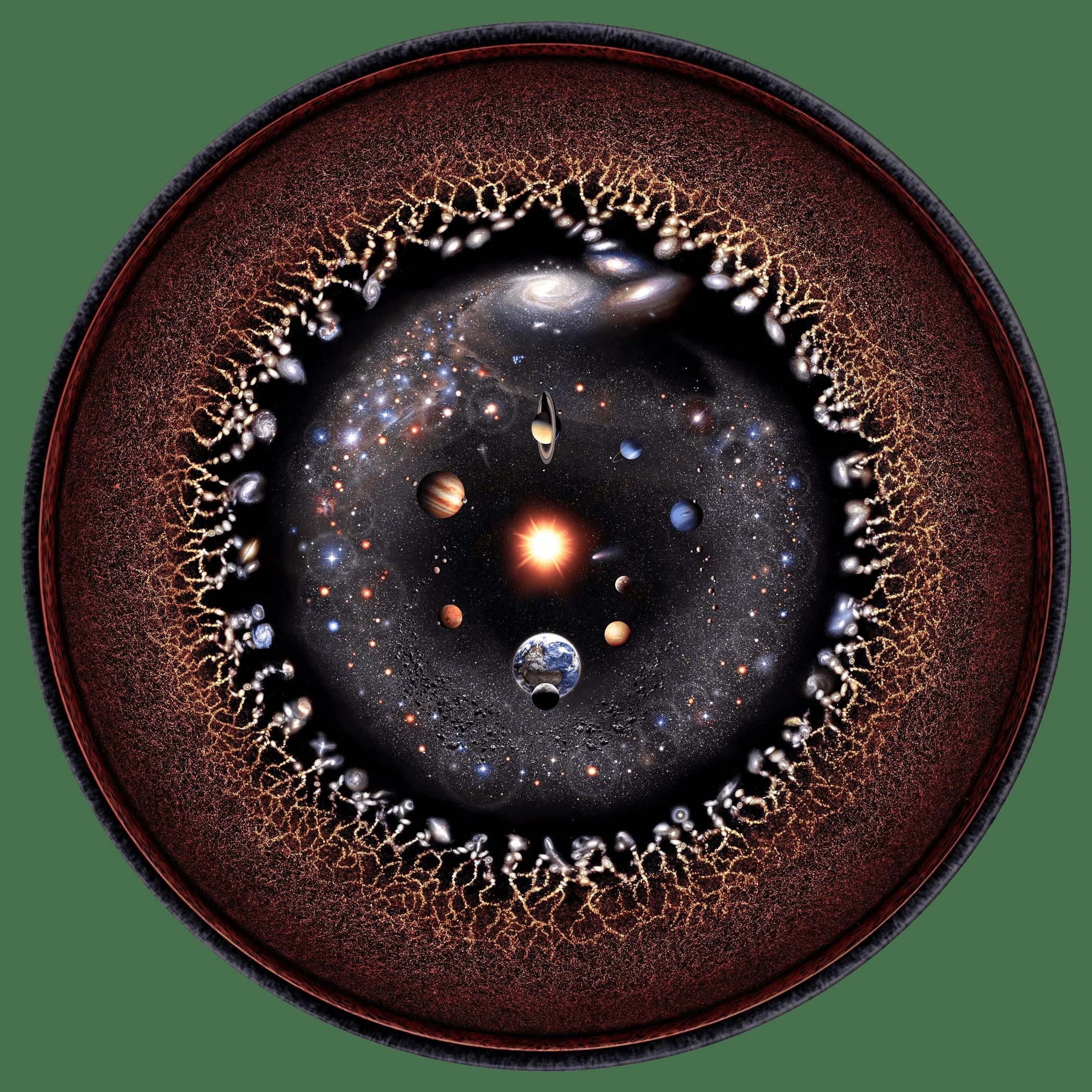 Todo o universo observável se resume a esta imagem