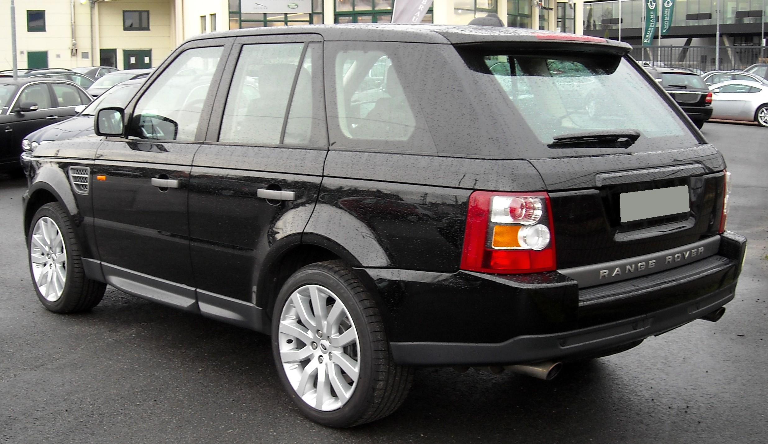 File Range Rover Sport rear Wikimedia mons