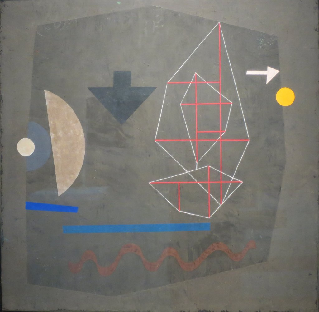 Possibilities at Sea by Paul Klee, 1932,