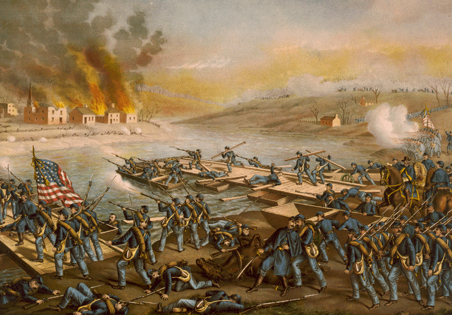 English: Battle of Fredericksburg: The Army of...