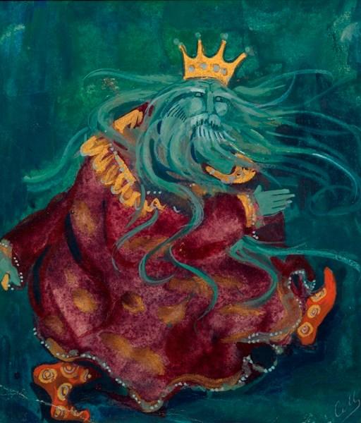 Sea tsar by Sergey Malyutin