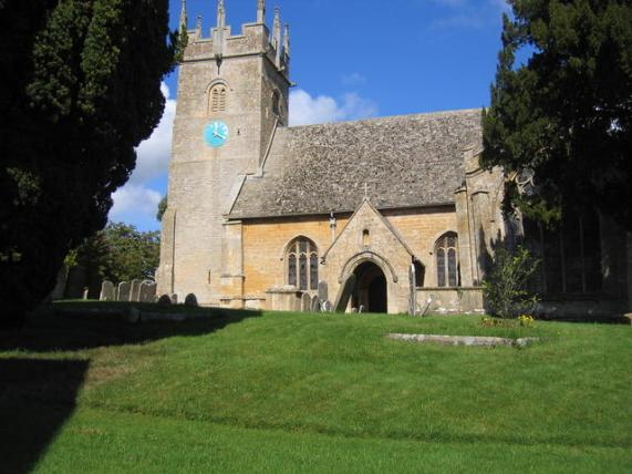 File:St James's Church, Longborough - geograph.org.uk - 246852.jpg