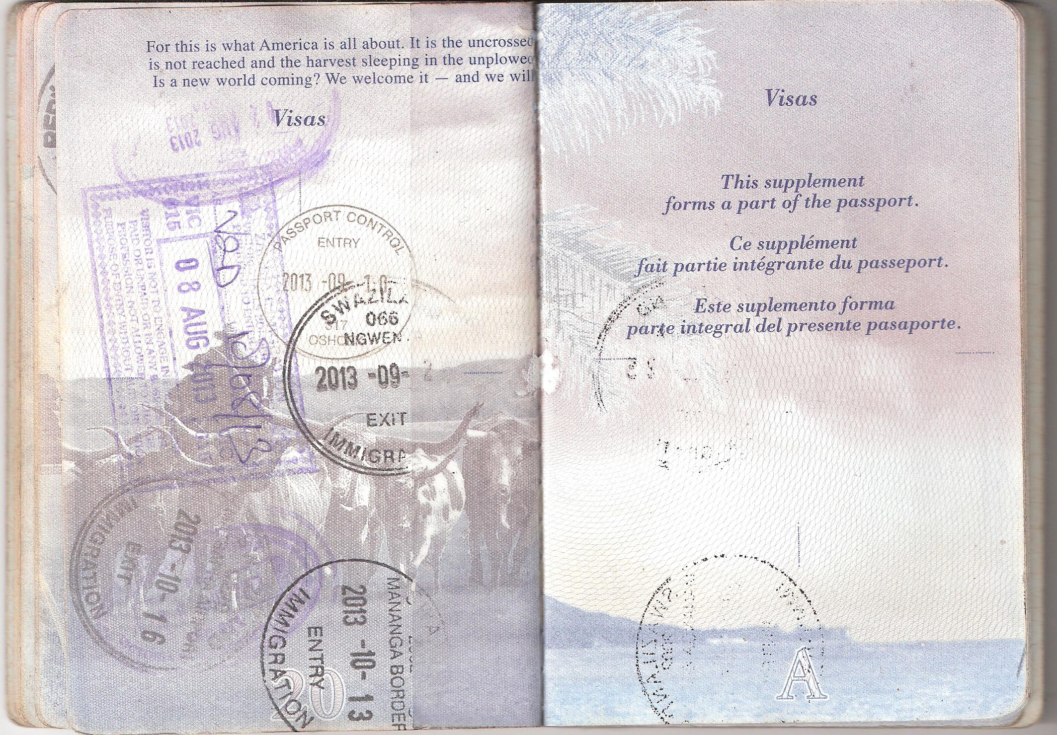 File Us Passport Extra Pages