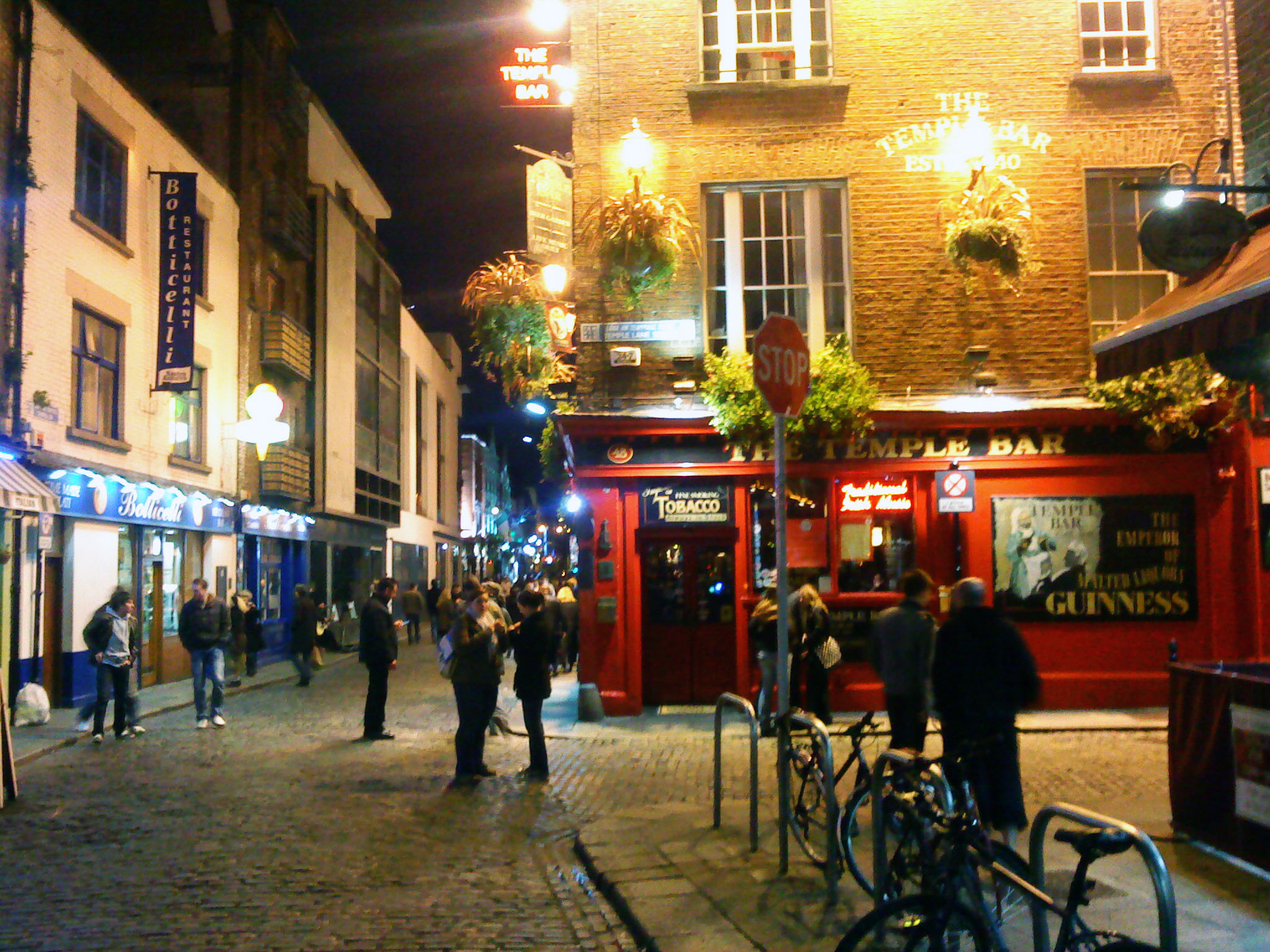 English: Temple Bar picture taken by me at the...