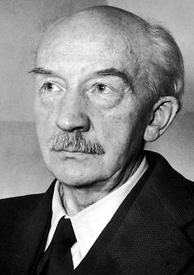 Walther Bothe en 1954