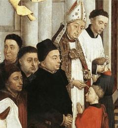 Painting, 14th century, Flanders. Rogier van d...