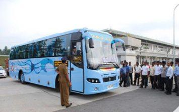 A luxury CTB bus