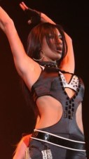 Nicole Scherzinger at the Tacoma Dome