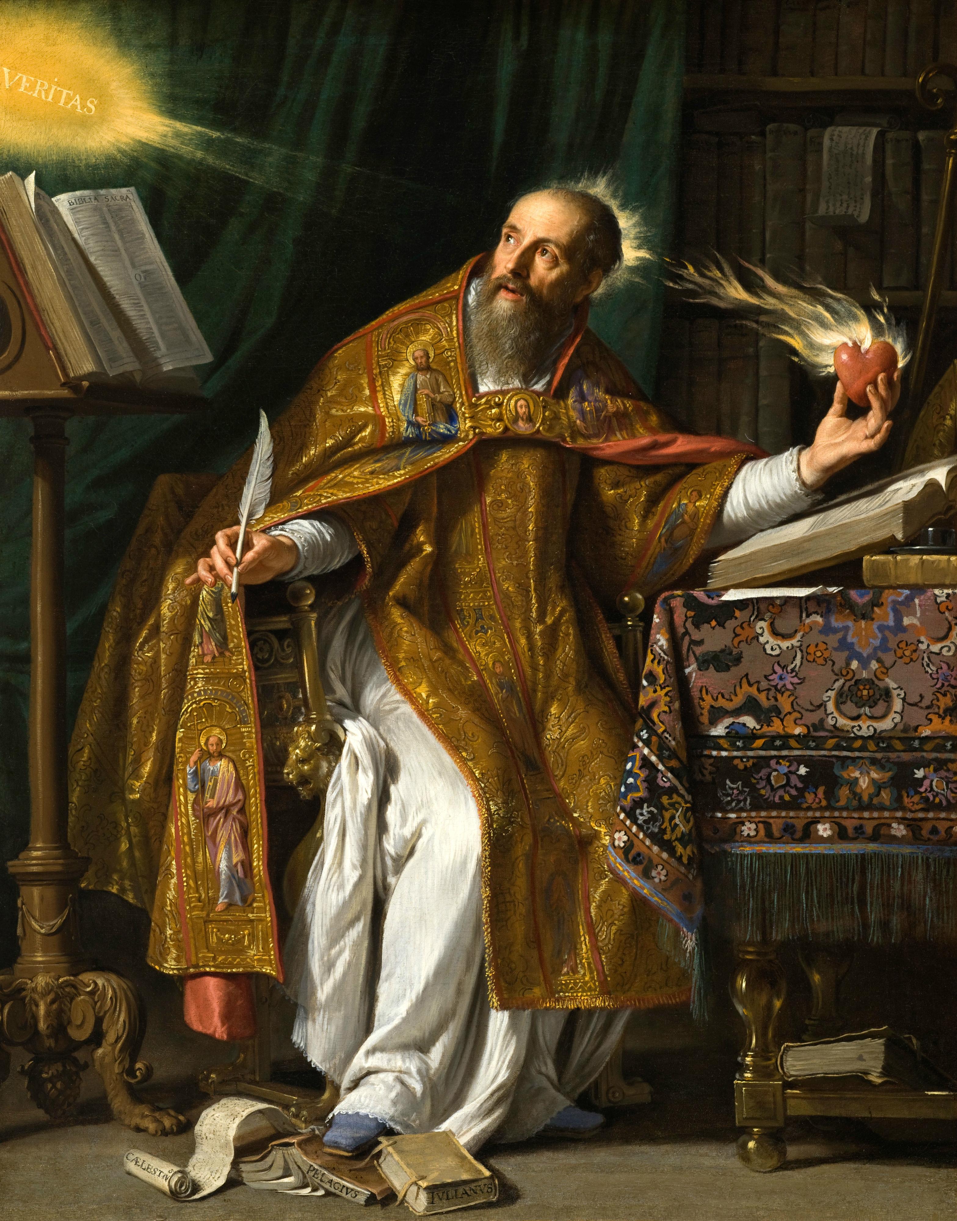 St Augustine of Hippo by Philippe de Champaigne