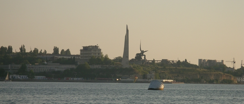 Sevastopol set fra Sortehavet