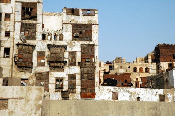 Al-Balad, one of the most historical places in Saudi Arabia. Source: Wikimedia