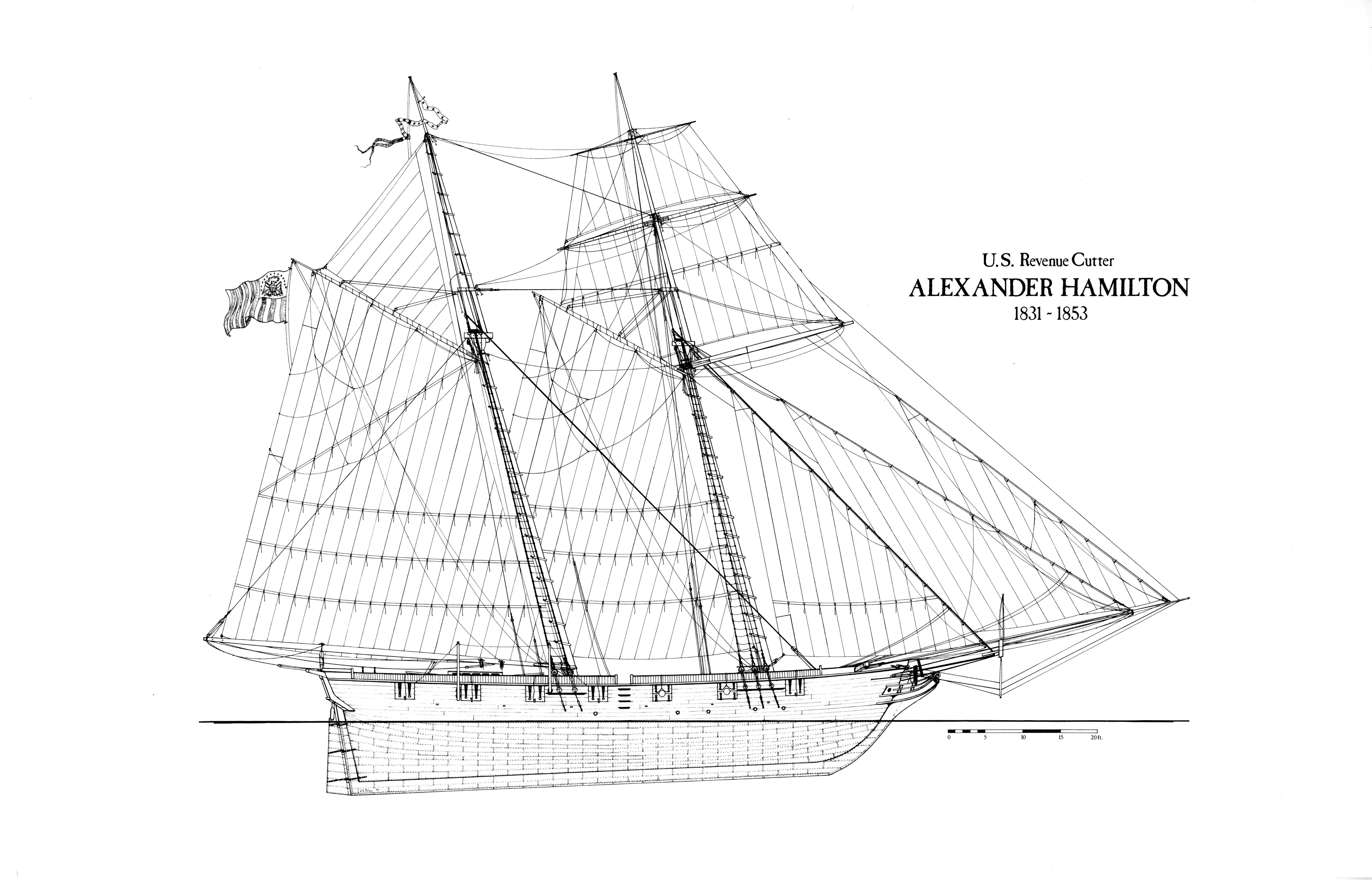 Century Boat Schematic
