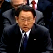 Akio Toyoda, President of Toyota Motor Corpora...