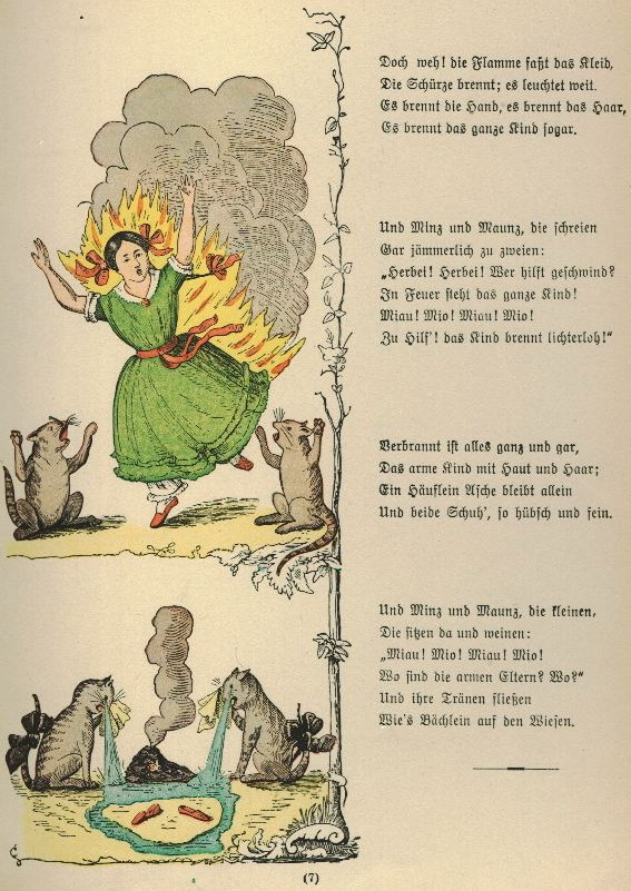 Matilda, Who told lies, and was Burned to Death