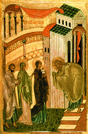 Candlemas (russian icon)