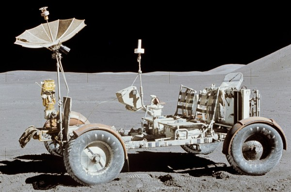 Just A Car Guy The lunar rover only wheeled vehicle off