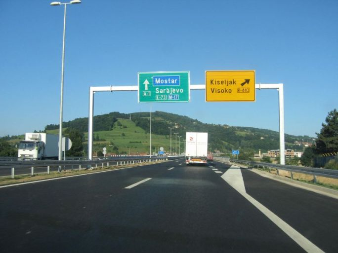 Bosnia and Herzegovina' Receive Loan To Continue Road Construction