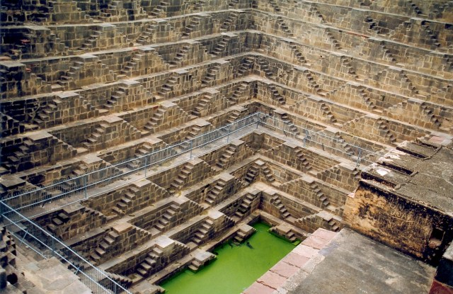 Image result for The Well Of Chand Baori.