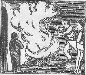 Gravat del segle XIX duna foguera de Sant Joan