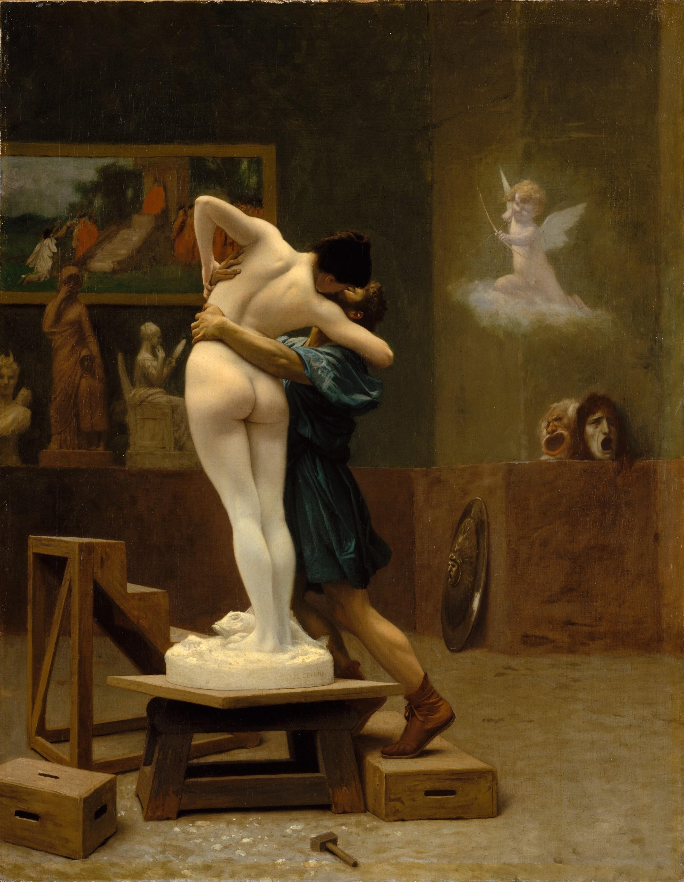Pygmalion and Galatea (Gérôme) Back