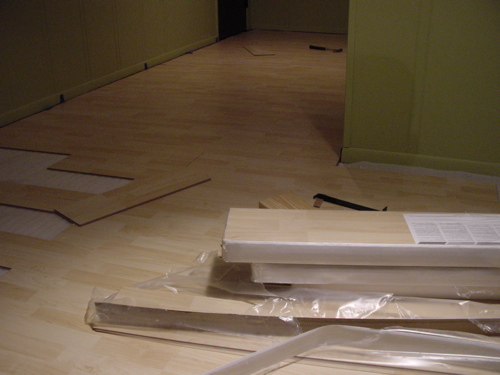 Causes Of Common Laminate Flooring Problems. Image Credit: Wikipedia