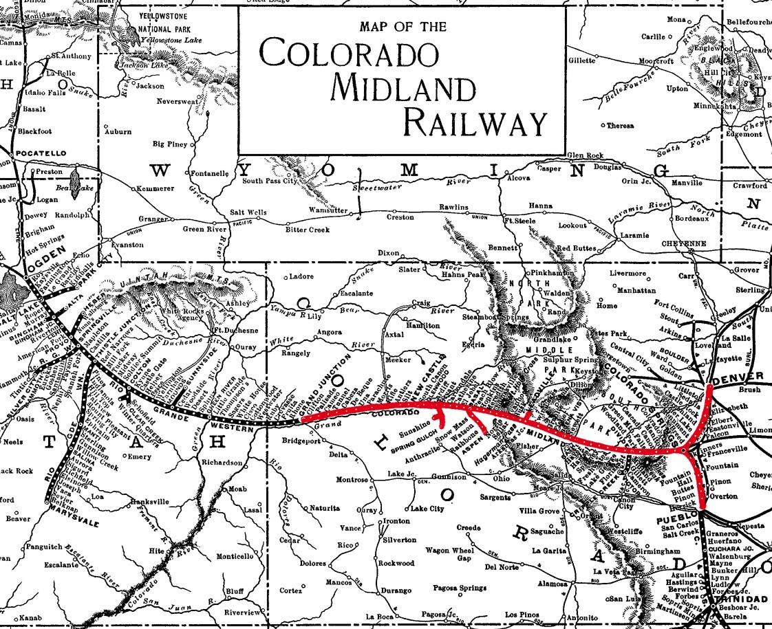 Re Colorado Midland And Midland Terminal Railroads