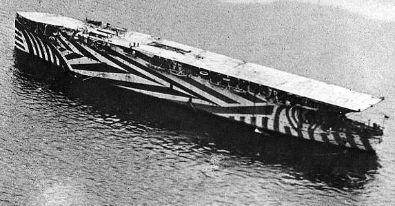 HMS Argus, circa 1917