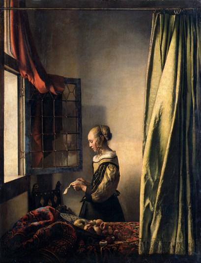 Imagini pentru girl read vermeer