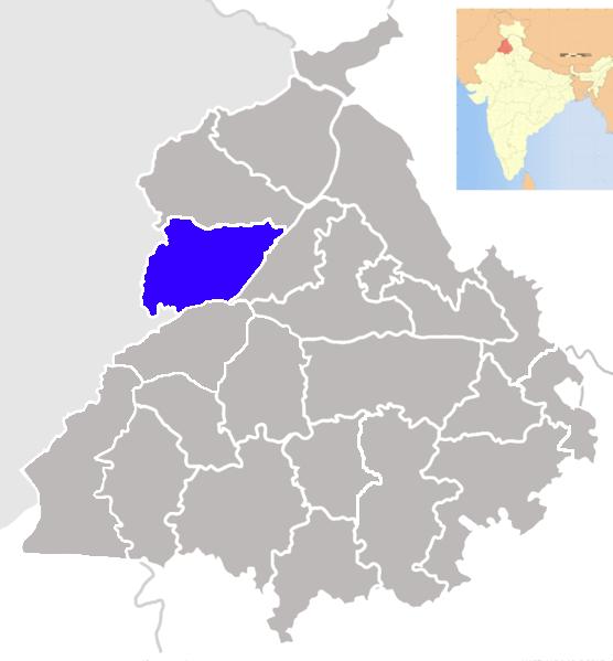 Patti Amritsar Punjab India Map