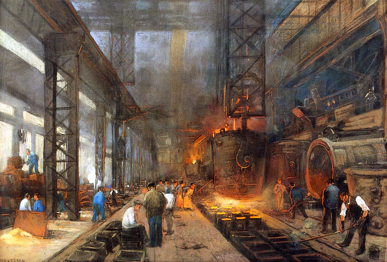 Industrial revolution workers