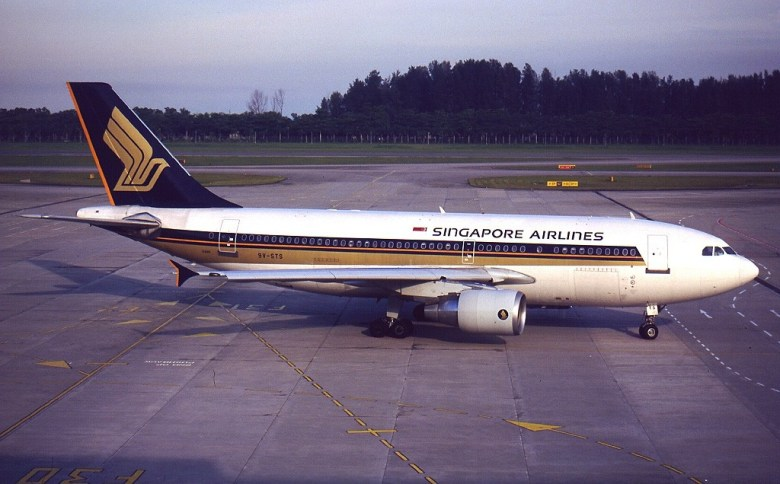 Image result for a310 singapore airlines