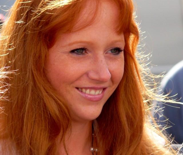 Filegerman Woman Portrait Dutch Summer Festival Of The Redhead Day In Breda