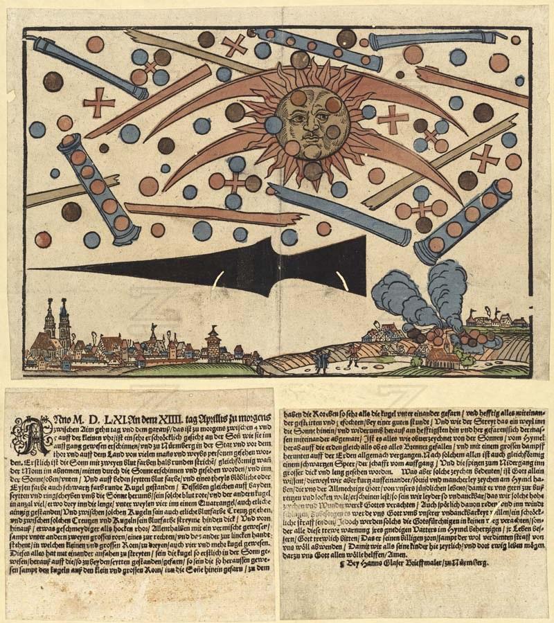 UFO w 1561 r.?