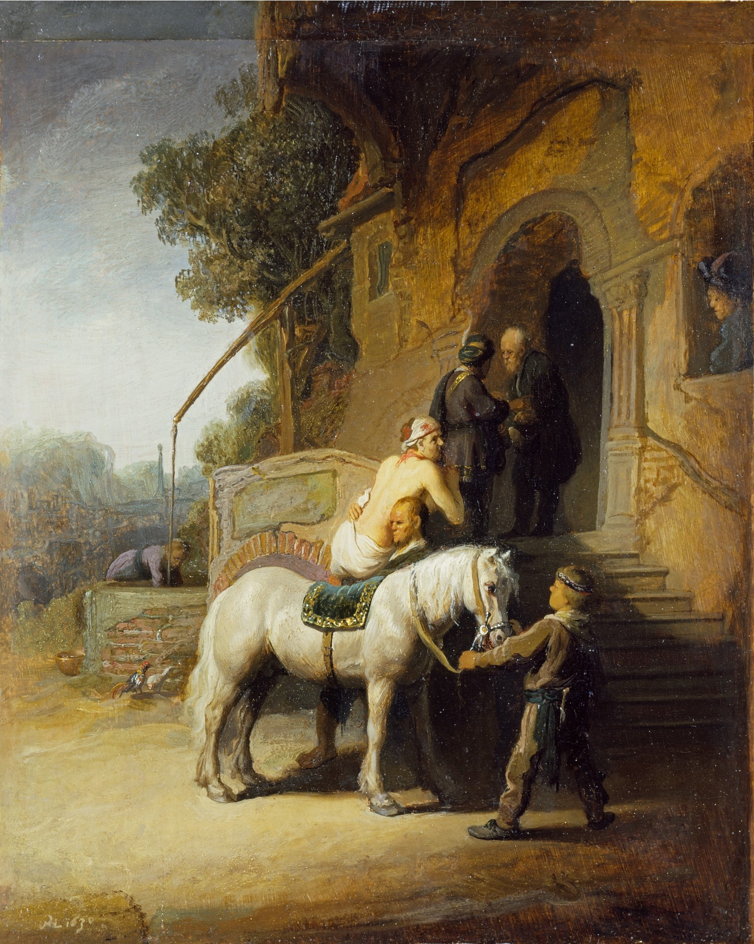 The Good Samaritan - Rembrandt (Wikipedia Commons)