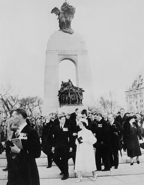 National War Memorial in Ottawa, Ontario (Canada)