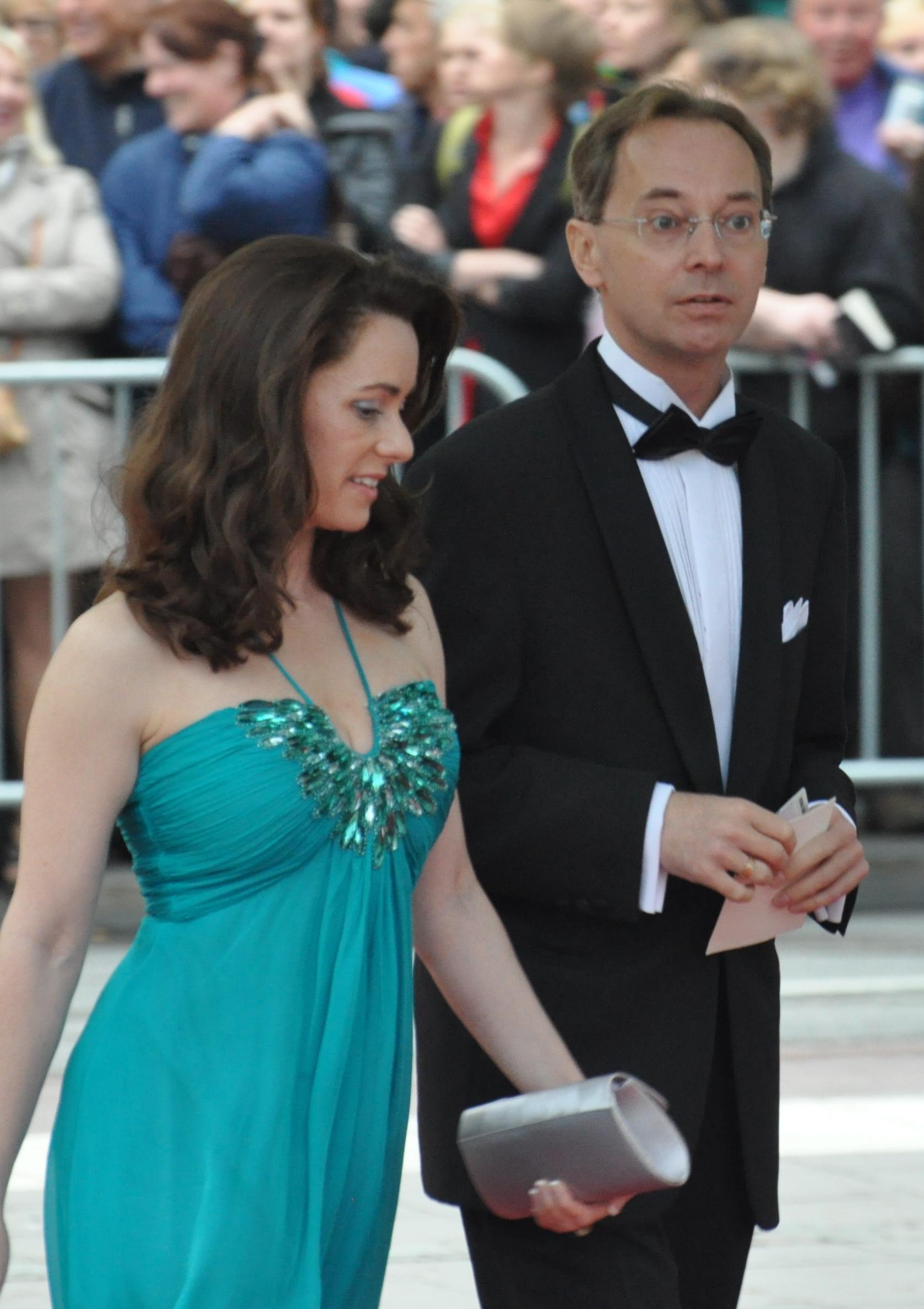 Till höger Gunnar Axén under kronprinsessebröllopet