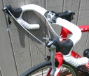 Road bike with drop bars