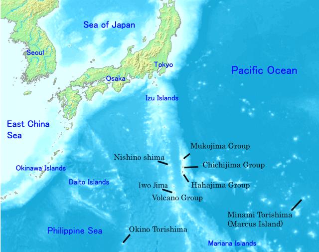 Situación de las Islas. Imagen Wikimedia