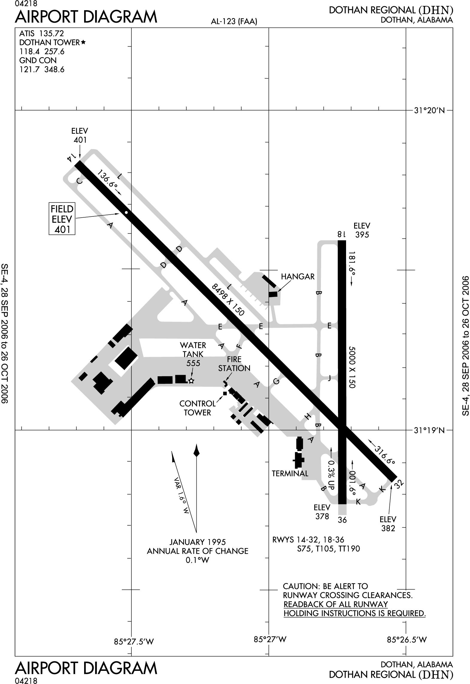 Dothan Alabama Regional Airport