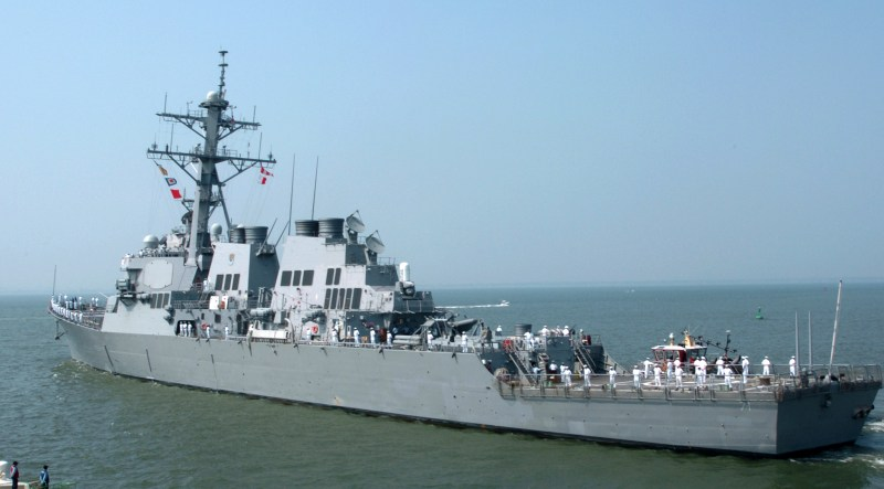 US Navy Destroyer USS Ross