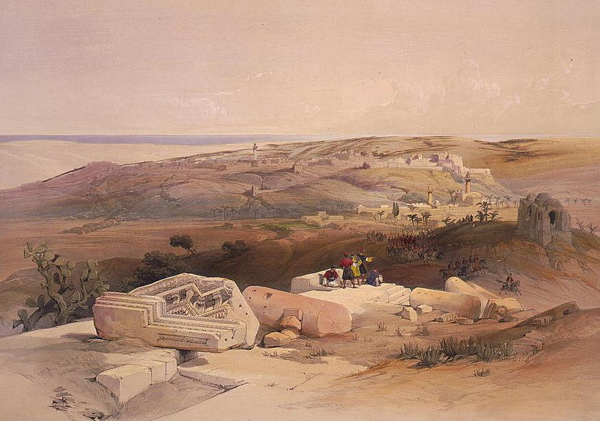 Painting of Ancient Gaza