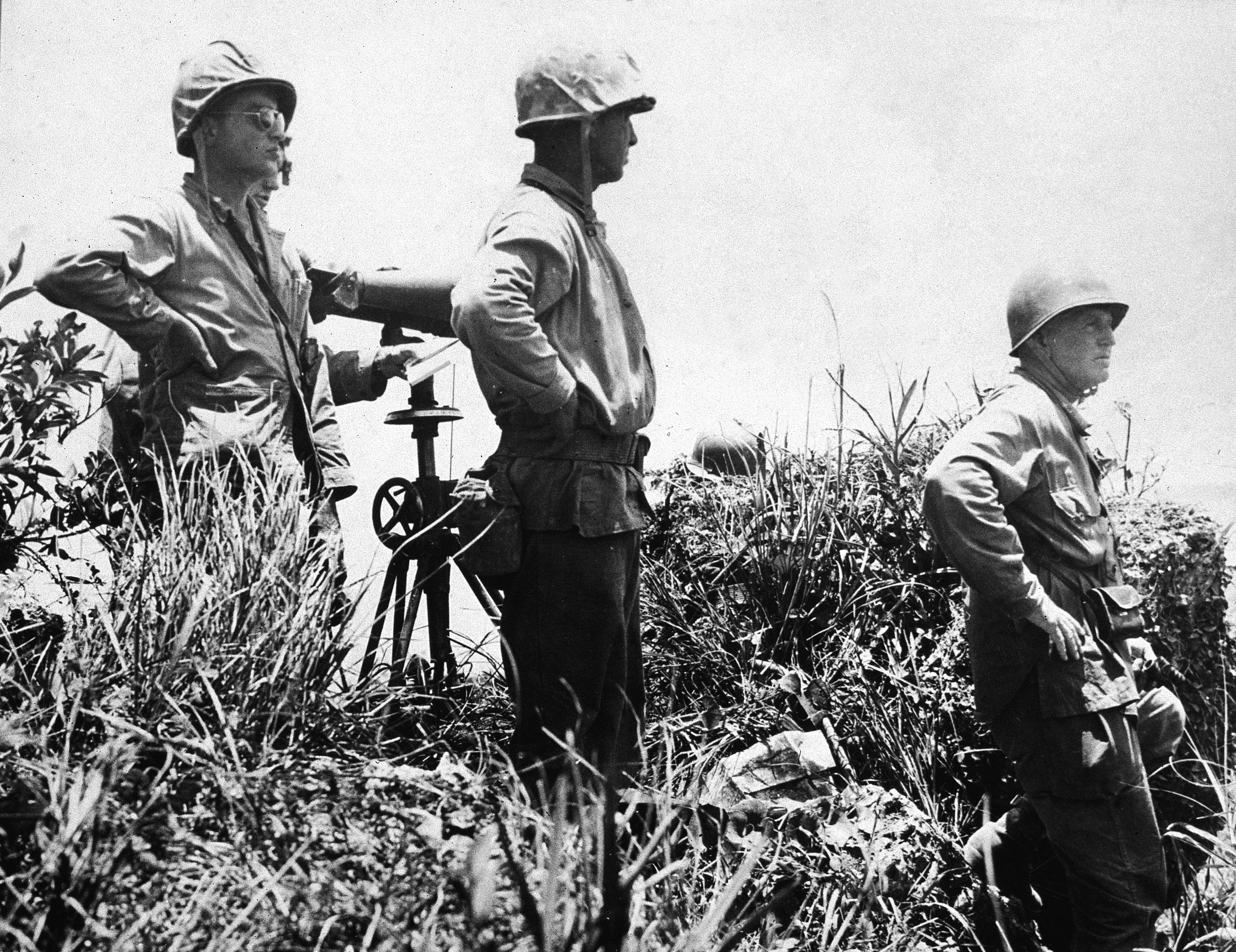 File:Last picture of LtGen. Buckner at Okinawa.jpg