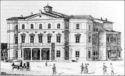 The National Theatre in Belgrade