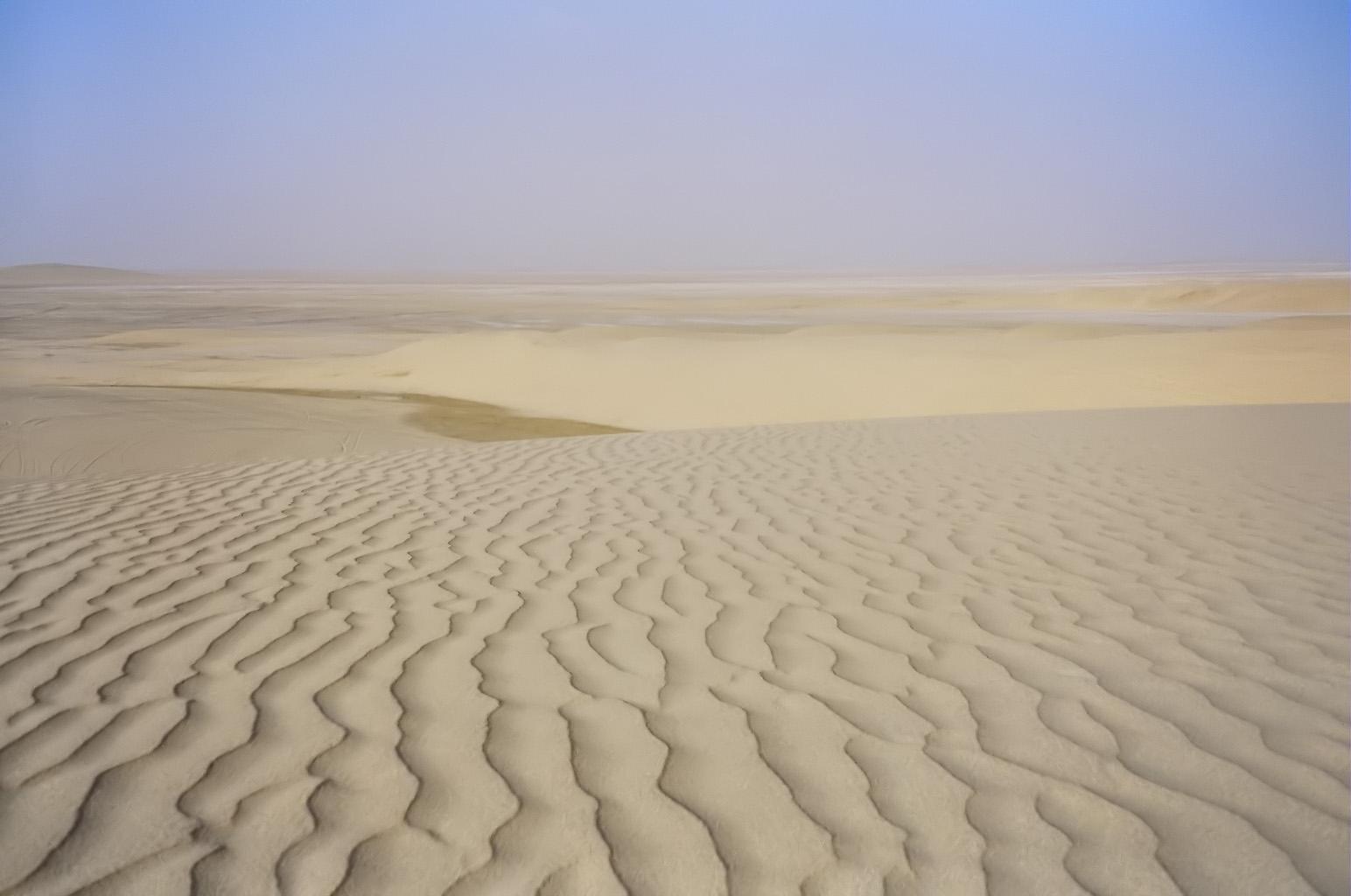 Desert in Qatar I took this photo myself.